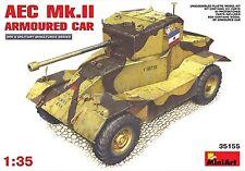 MIN35155 - Miniart 1:35 - AEC Mk.2 Voiture Blindée maquette en plastique