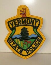 VERMONT STATE  POLICE OFFICER  patch