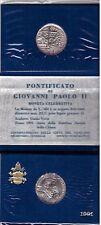 VATICANO: GIOVANI PAOLO II, 1991 ANNO DOTTRINA SOCIALE, LIRE 500 D'ARGENTO FDC