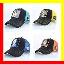 Gorras de Dragon Ball Caps VEGETA Goku Trucker Mesh Hats Unisex Hat Baseball Cap