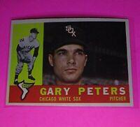 1960 Topps #407 Gary Peters White Sox NmMt High Grade Sharp!