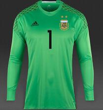 NWT Adidas AFA Argentina Extra Large Adizero ROMERO #1 Goalie Long Sleeve Ah9700