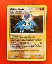 Lotto Carte Pokemon Armaldo Liv.52 18/146 Reverse Raro