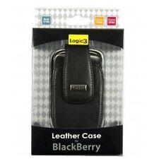Logic3 BBC381 FUNDA DE PIEL PARA EL BLACKBERRY CURVE 8520, 8900 Y BOLD 9700