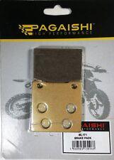 PAGAISHI REAR BRAKE PADS FOR  Kawasaki ZRX 1200 R Handlebar fairing A6F 2006