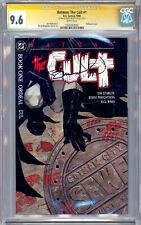 BATMAN: THE CULT #1 CGC-SS 9.6 BERNIE WRIGHTSON CVR & ART JIM STARLIN STORY 1988