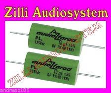 AZ AUDIOCOMP coppia condensatori serie BEST PL 8G2 POLIESTERE da 8,2 uF NEW