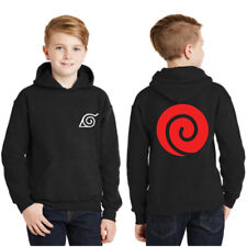 HOODIE Naruto SHIPPUDEN Men's Unisex Youth Sweater Logo S-5XL Fleece