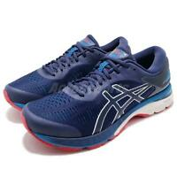 Asics Gel-Kayano 25 4E Extra Wide Blue Navy White Men Running Shoes 1011A023-400