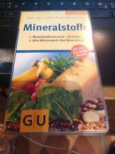 Buch Mineralstoffe