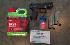 New listing Airsoft Walther P22 Special Operations Black Spring Powered Pistol + BBs + Mag