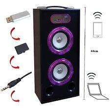 MOBILE BLUETOOTH SOUNDBOX - PINK - LAUTSPRECHER -RADIO FM-AUX-USB-SD-MP3- BOX16