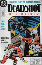 Deadshot No.1 / 1988 John Ostrander Kim Yale & Luke McDonnell