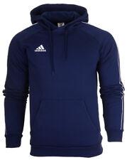 adidas Core 18 Mens Jumper Hoodie Top Hoody Overhead Cotton Sweatshirt S-2xl M Navy