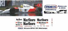 Decals Marlboro McLaren MP4/6 Senna / Berger 1991 pour Minichamps 1/43e