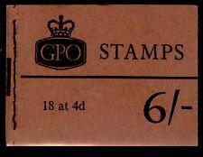SGQP30, BOOKLET, NH MINT. Cat £70. NOV 1967.