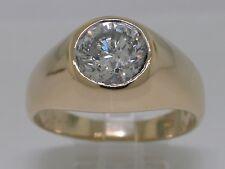 Diamant Brillant Ring  750 Gelbgold 18Kt Gold Solitär Brillant 1,88ct H P2
