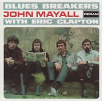 "John Mayall with Eric Clapton : Blues Breakers Vinyl 12"" Album (2010) ***NEW***"