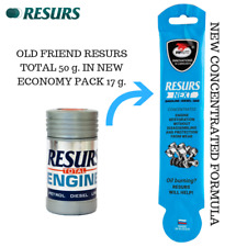 ENGINE OIL ADDITIVE RESURS NEXT 17g. NEW CONCENTRATE FORMULA. ECONOMY PACK.