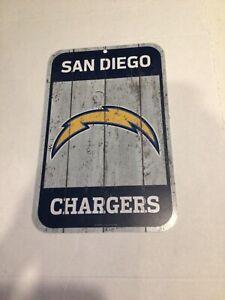 "San Diego Chargers Logo Sign 11""x17"" PLASTIC SIGN DURABLE POSTER Door Hanger"