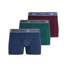 Jack&Jones Hombre Boxer Slip Underwear estampados Pack 3 unidades 22644