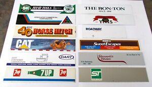 Winross Truck 12 Different Side Panels Smith, Cat, Dart, 7UP, Roadway, Schlitz +