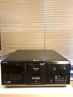 Sony CDP-CX335 300 Disc CD Changer- SERVICED + NEW BELTS -Clean - Free Shipping