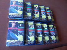 NEW LOT OF (12) STAR TREK VOYAGER COLLECTOR EDITION VHS TAPES   24 EPISODES