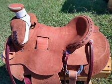 """16"""" Spur Saddlery Ranch Roping Saddle - Made in Texas"""