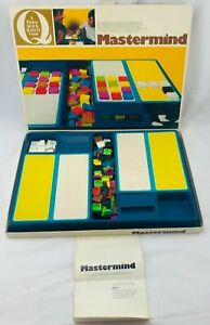 1974 Mastermind Game by Parker Brothers Complete in Great Condition FREE SHIP