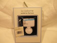 iPod Nano 3rd generation case by Liz Claiborne w/ Wristlet Black  NEW