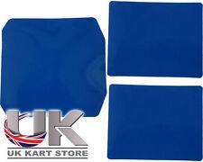 Ricambi blu per go-kart