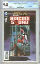 New Suicide Squad: Futures End #1 (2014) CGC 9.8 White Pages 2078864013