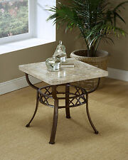 Hillsdale 4815OTE Brookside Fossil End Table NEW