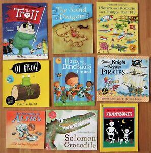 Children's boys pre school bedtime picture story book bundle Julia Donaldson etc
