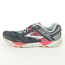 Brooks Cascadia 11 Trail Running Walking Shoes Gray Anthracite 10.5 $119