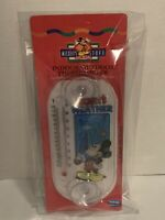 "Vintage Walt Disney Mickey's Stuff Indoor-Outdoor Thermometer 8"" New Sealed"