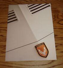 Original 1989 Pontiac Trans Am & Firebird Sales Brochure 89 20th Anniversary