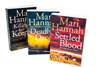 Mari Hannah Kate Daniels 3 Books Collection Set Settled Blood, Deadly Deceit, Ki