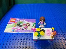 Lego 30102 Friends Olivia's Desk, 100% Complete Guide Free Shipping