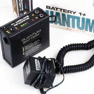 ^ Quantum Battery +1 High Capacity Battery for Flash Units w/ Box!