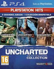 UNCHARTED THE NATHAN DRAKE COLLECTION 1 2 3 EN CASTELLANO NUEVO PRECINTADO PS4