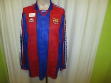 "FC Barcelona Kappa Langarm Trikot 1995-1997 ""ohne Hauptsponsor"" Gr.XL"