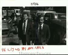 1985 Press Photo St. Bernard Sheriff's Office - Richard Baumy, Steve London