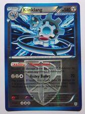 Klinklang REV HOLO - 90/135 BW Plasma Storm - Rare Pokemon Card