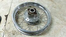 08 Honda CB250 CB 250 Nighthawk rear back wheel rim straight
