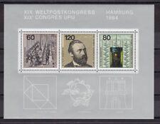 Briefmarken aus der BRD (1980-1989) mit Post- & Kommunikations-Motiv als Satz