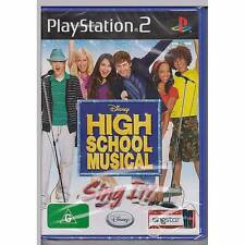 PLAYSTATION 2 DISNEY HIGH SCHOOL MUSICAL SING IT SONY PS2 PAL [BN]