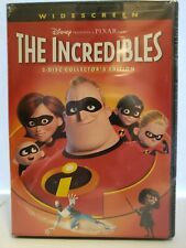 The Incredibles (Dvd, Widescreen Brand New Factory Sealed Fast Shipping)