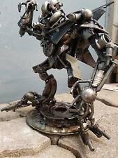 Transformer Starscream Iron Scrap Artwork Sculpture Model Handmade Paperweight